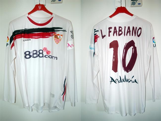 camisetas de futbol Sevilla FC manga larga
