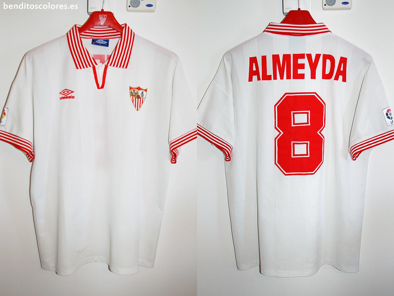segunda equipacion Sevilla FC venta